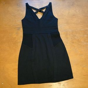 Express Womens Size Small Black Sleeveless Dress